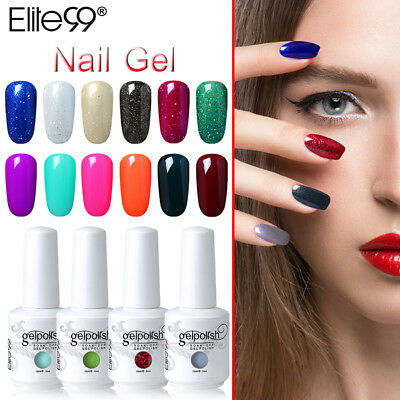 Elite99 15ml Smalto Semipermanente Gel Polish UV LED Ricostruzione Unghie Arte