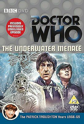 Doctor Who: The Underwater Menace DVD NEW/SEALED - Patrick Troughton is Dr Who ^