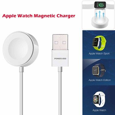 US Magnetic Charger Charging Cable For Apple Watch Edition iWatch 38mm & 42mm 1M