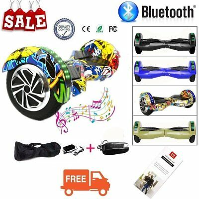 "8"" Hoverboard E-self Balance Scooter Adulte Skateboard Bluetooth + Sac + LED"