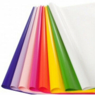 Coloured Cellophane 50 x 70cm, 150 sheets Florist Flower & Gift Wrapping