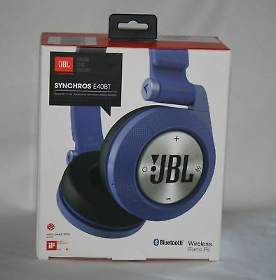 jbl e40 bt wireless rechargeable soft cushioned on ear. Black Bedroom Furniture Sets. Home Design Ideas