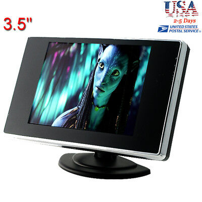 3.5 Inch TFT LCD Color Screen Car Video Rearview Monitor Camera 【USA】