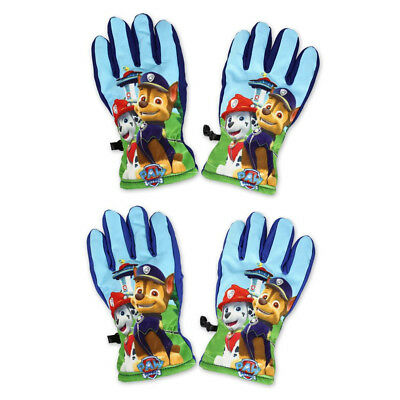 New boys girls officially licensed Paw Patrol winter gloves 3-8 years bnwt