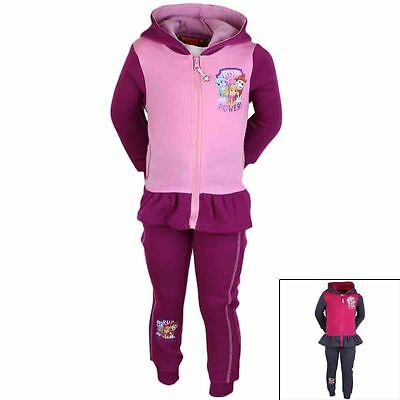 Paw Patrol Tracksuit Girls Official 2-8 Years