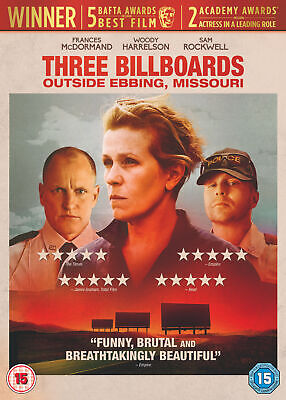 Three Billboards Outside Ebbing, Missouri (DVD) Frances McDormand