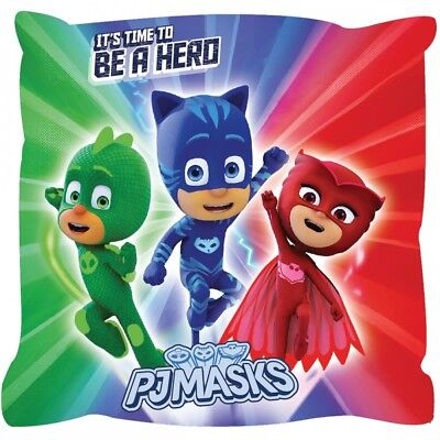 Kids  Pj Masks Characters Cushion Pillow  Childrens Gift New Official
