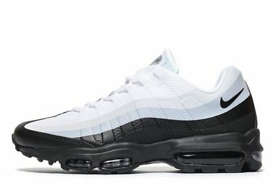 Nike Air Max 95 Ultra Trainer Uomo Essential UK 11/EUR 46/US 12 Grigio/Nero BN