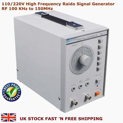 110/220V High Frequency Raido Signal Generator RF 100 KHz to 150MHz