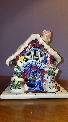 ESBlue Sky Clayworks MOUSE HOUSE by Heather Goldminc from the Christmas collect