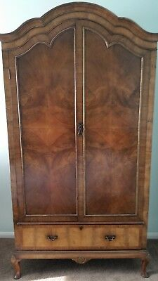 Armoire French Antique Walnut Wardrobe in very good condition.