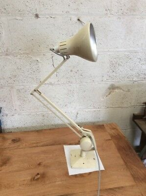 Angle poise Style Desk Lamp Industrial Machinist