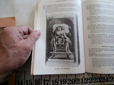 4 Old And Rare Medical Books Reference Catalogs Hemlock Books
