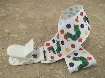 CLOSING DOWN SALE the very hungry caterpillar dummy clip