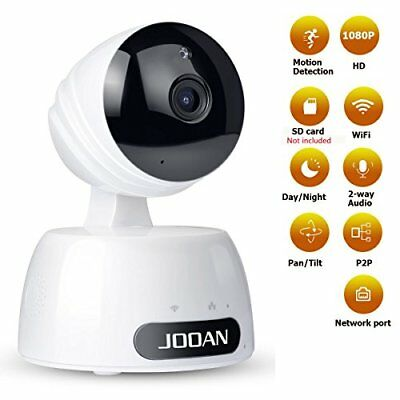 Security IP Camera,JOOAN 2.0MP 1080P Home Wireless Video Surveillance System Two