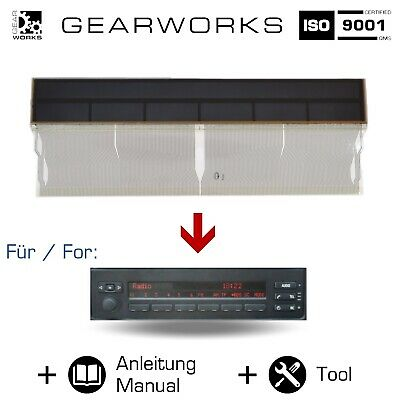 Gearworks Display Lcd Für Bmw 5Er/E39 Für Mid/Radio/Bordcomputer Diy Reparatur