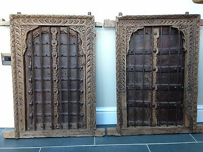 Antique Indian shutters