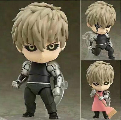 HOT SALE Nendoroid 645 Anime One Punch Man Genos PVC Figure Toy