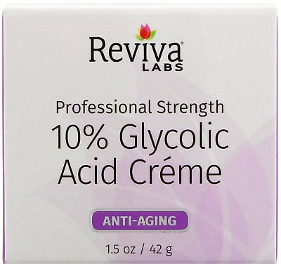 10% Glycolic Acid Cream, Reviva Labs, 1.5 oz