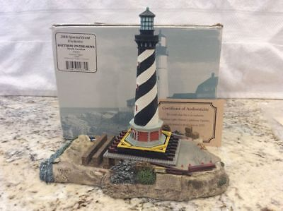 Harbour Lights HL632 Cape Hatteras on the Move, Original Box, COA and Signed