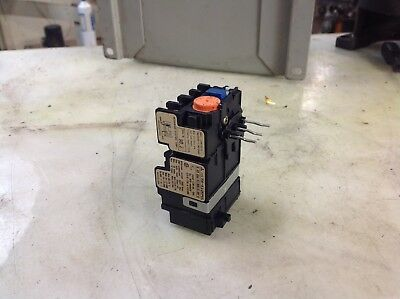 Mitsubishi Overload Relay, TH-K12PUL, 2.8 - 4.4 A Range, Used, Warranty
