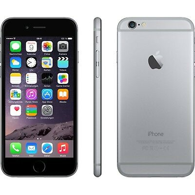Apple iPhone 6 Smartphone 4,7 Zoll (11,9 cm) Touch-Display, 64GB Speicher
