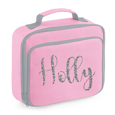 Personalised Name Lunch Box Bag Back to School Bags Custom Bag