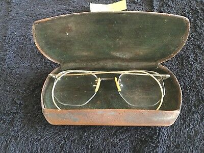 Vintage Shuron  Eyeglasses With Case  1/10 12K Gold Filled