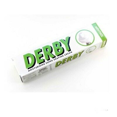 Derby Shaving Cream Moisturising Shaving Cream Menthol 100Ml