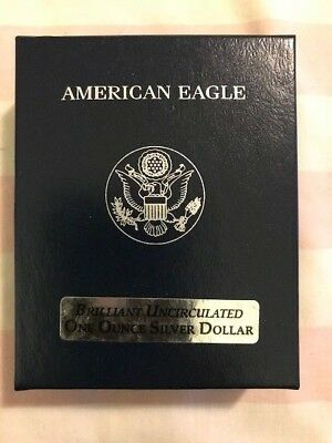 1986 US Silver Eagle 1st year Issue UNC