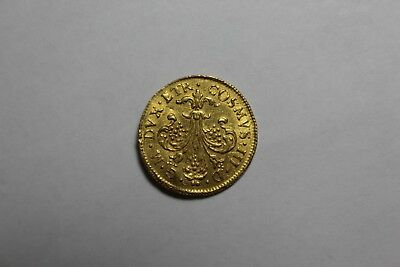 1723 Italian States Gold Tuscany Florin Jewelry Piece GT10