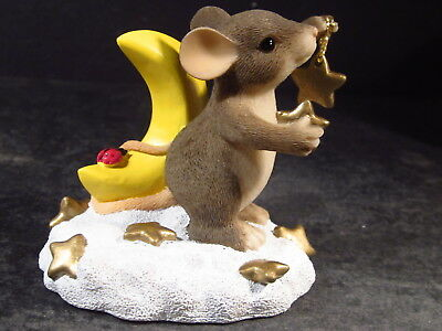 Charming Tails 97/11 YOU ARE MY SHINING STAR 97/11 Mouse New Old Stock MIB