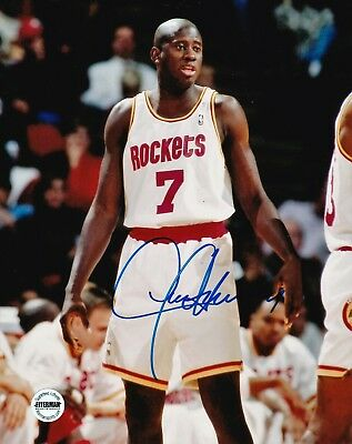 315716c49b50a CARL HERRERA SIGNED Autographed 8x10 Photo FSG Authenticated 2 Houston  Rockets