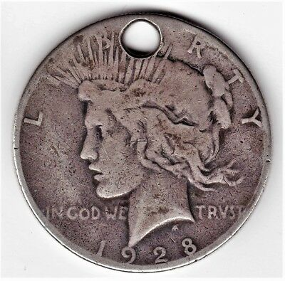 Extremely Rare 1928 Silver Peace Dollar A NUMISMATIC CLASSIC & BARGAIN BOX BUY!