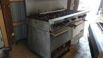 Garland Range Commercial Oven and Stove