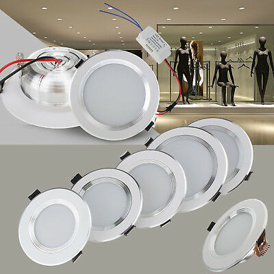 Dimmable LED Recessed Ceiling Light Downlight Bulbs Fixture 3W 5W 7W 9W 12W Lamp