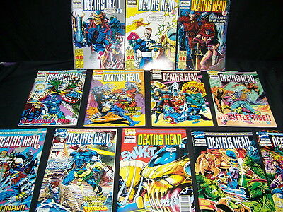 Batch of comics DEATHS HEAD II collection complete 12 numbers! impressive
