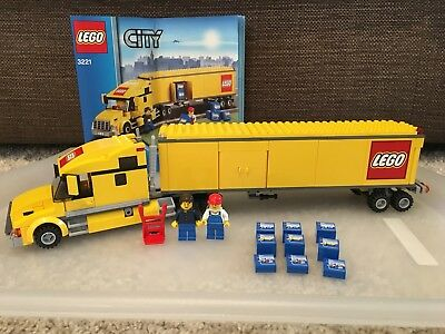 Lego City 3221 Lego Truck With Instructions 2600 Picclick Uk