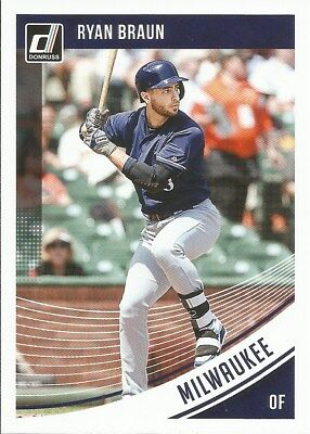 Ryan Braun #136 - 2018 Donruss - Base - Milwaukee Brewers