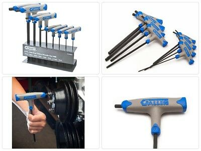 Hex Key Set (8-Piece) Kit w/ T-Handle Metric Ball End Stand by Allen