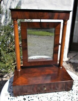 antique dressing table mirror, swing mirror, old French toilet mirror,