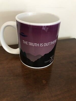 X files Coffee Mug,1994 The Truth Is Out There, Purple,Fox Film Corporation UFO