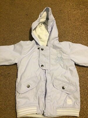 Absorba Baby Boy's Blue Bomber Jacket 2 years 24 months