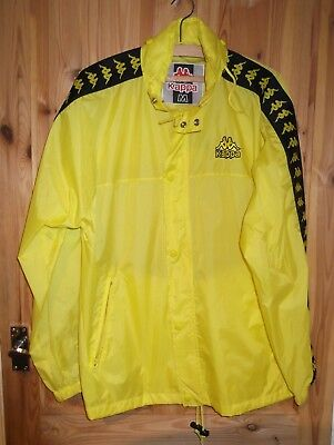 1543c20c3 KAPPA Waterproof Lightweight Sports Rain Jacket Bright Yellow Size M 46