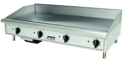 """Toastmaster TMGM48 48"""" Countertop Gas Griddle - Flat Top Grill NAT OR LP"""