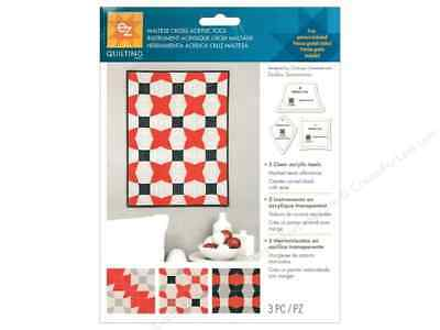 Maltese Cross Template Ez Simplicity Acrylic Tool Quilting,craft, Patchwork Bnew