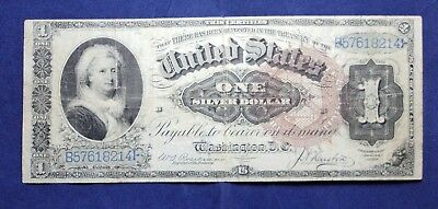 1886 $1 United States Silver Certificate