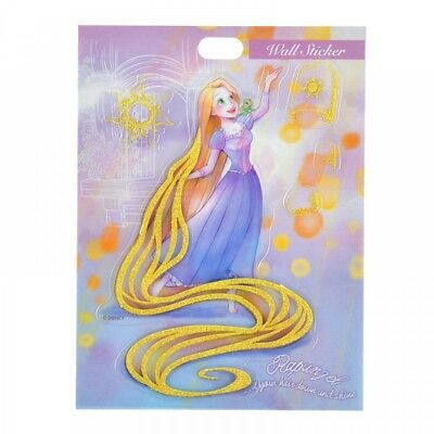 New Disney Store Japan Wall Sticker Rapunzel Lame Water ColorFrom Japan F/S