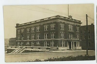 RPPC Street View JOHNSONBURG PA Elk County Pennsylvania Real Photo Postcard