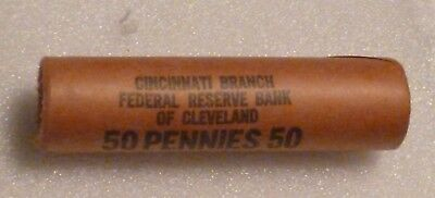 1959P Lincoln Memorial Cent Uncirculated Original Penny Federal Reserve Roll
